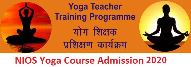 NIOS Yoga Teacher Training Admission